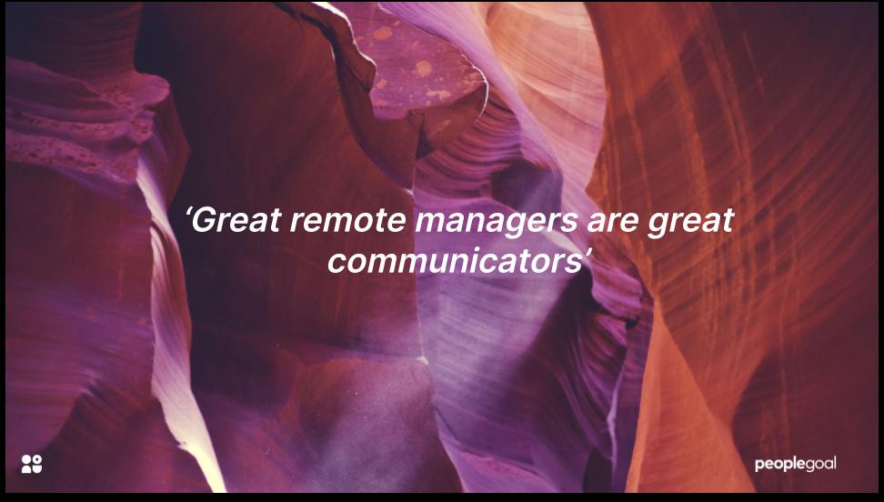 Communication and virtual leadership