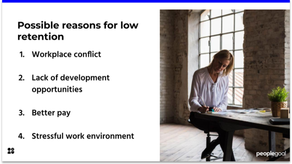 Reasons for Low Employee Retention