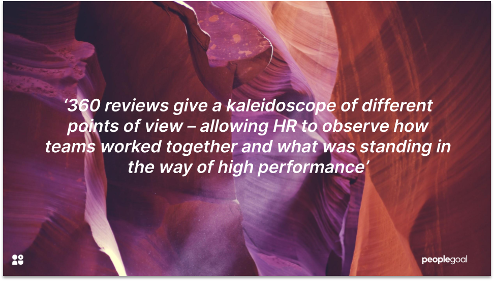 360 Performance Reviews and Different Perspectives