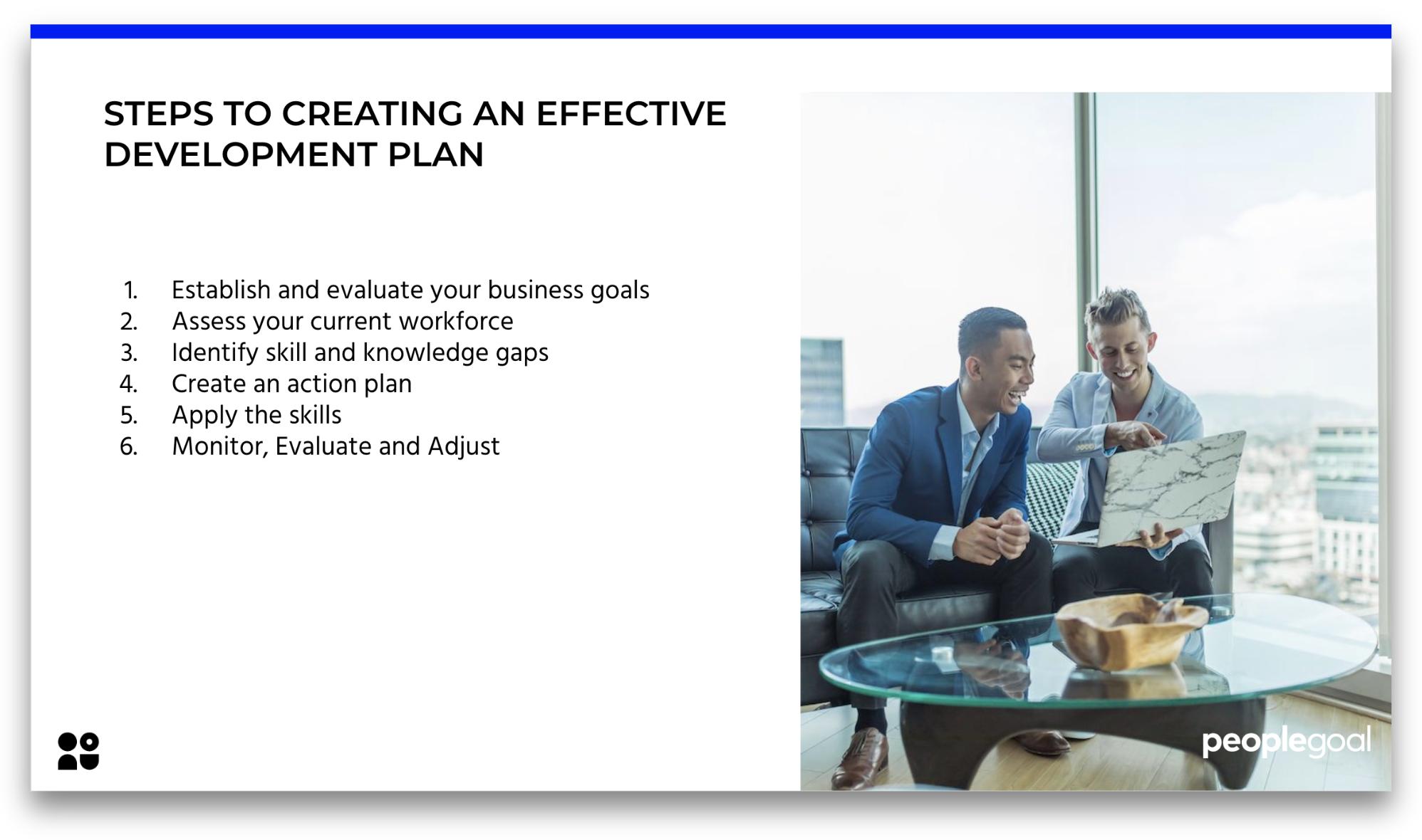 development plan key steps