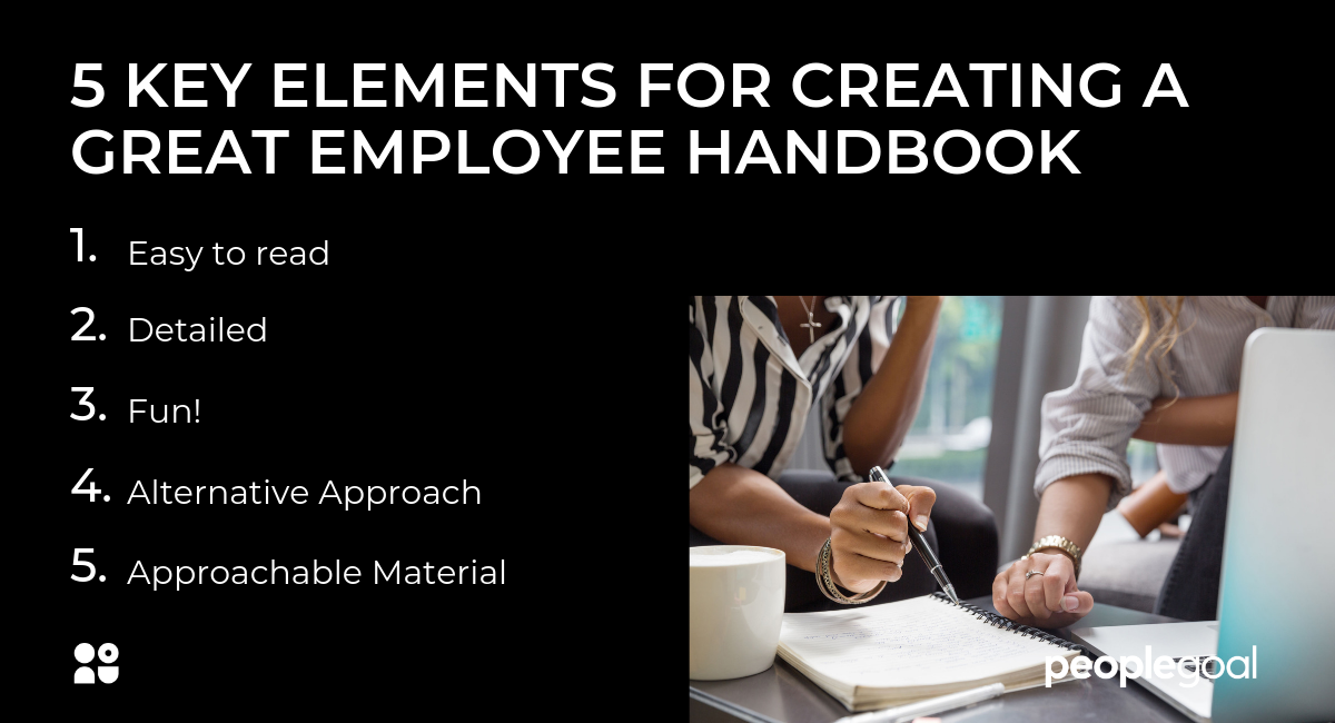 5 KEY elements for creating a great employee handbook (1)