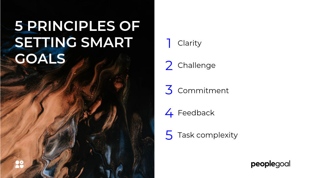 5 principles of setting smart goals