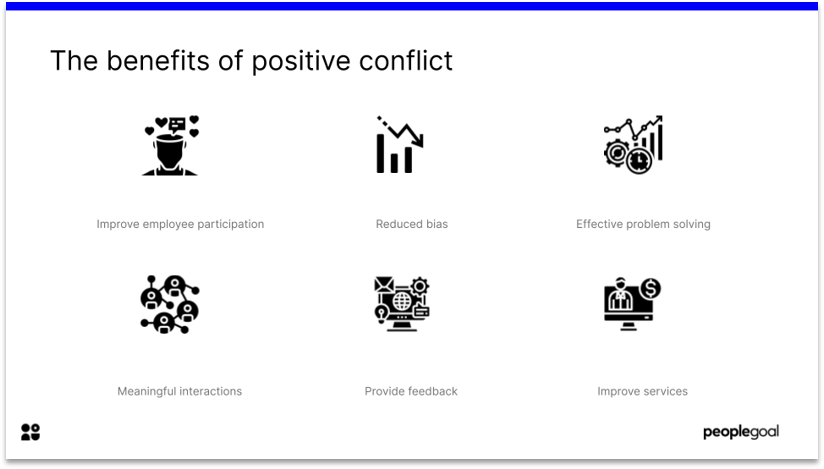 Positive Conflict in Hierarchy Structure