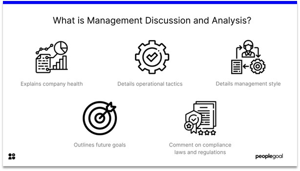 Management Discussion and Analysis - definition