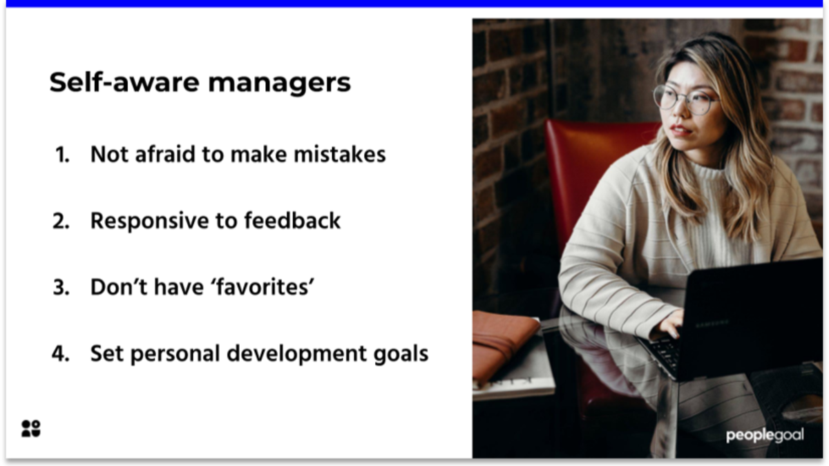 How to be a self-aware manager