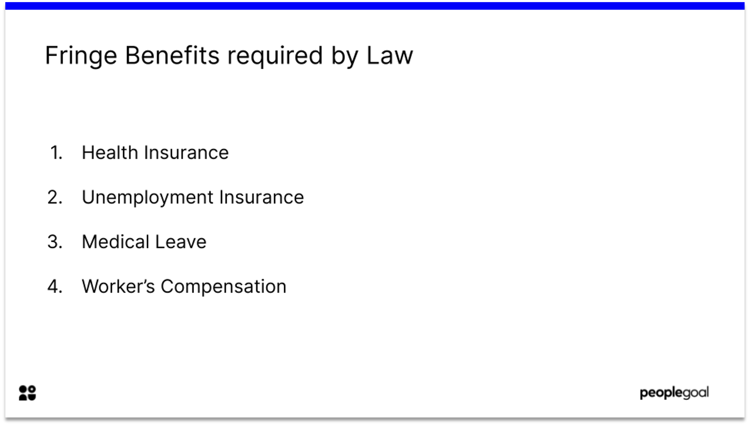 Fringe Benefits required by law