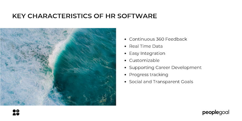 Key characteristics of HR software