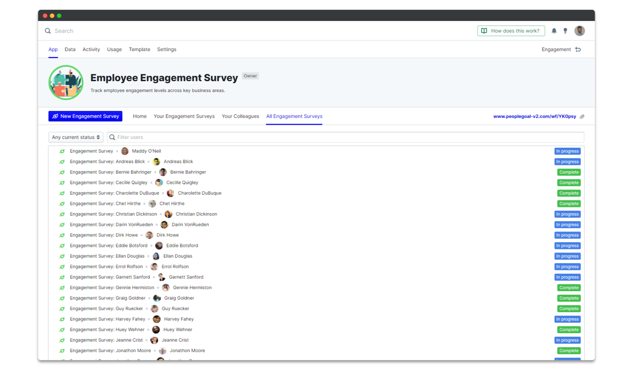 Real-time Engagement