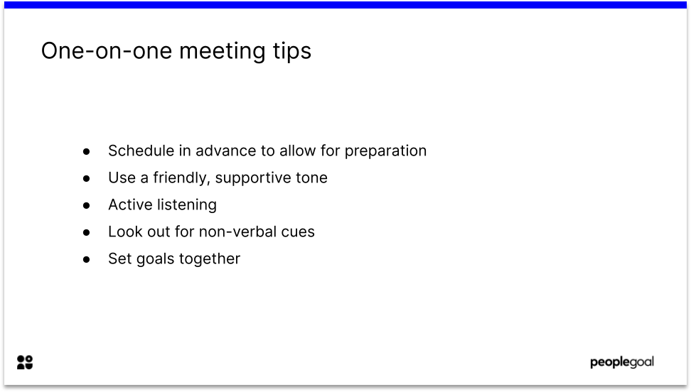 One on One Meeting Tips for Remote Workers