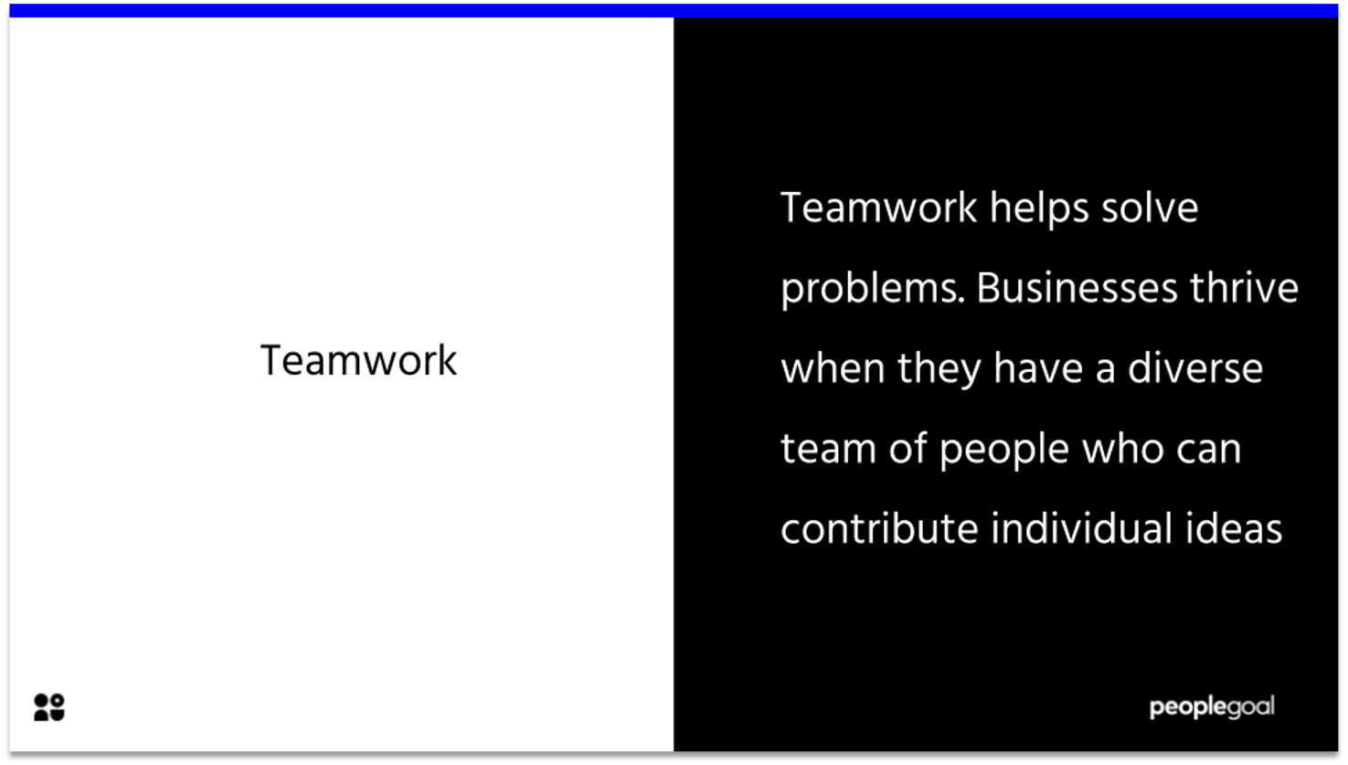 teamwork - manager comments for the next review cycle