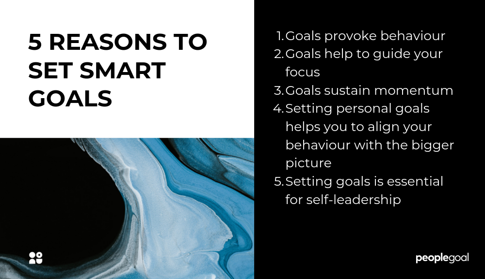5 reasons to set smart goals
