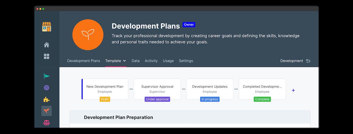iqmetrix development plan peoplegoal
