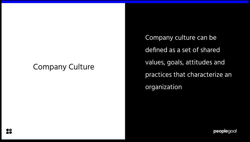 company culture definition