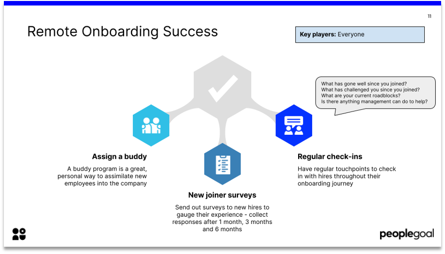 remote onboarding success
