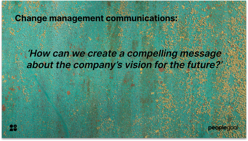 Communications for Effectively Managing Change quote