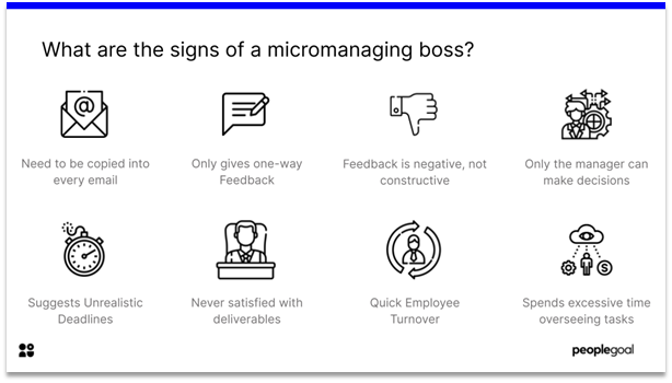 signs of micromanager