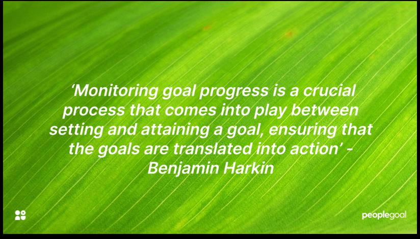 Monitoring OKR progress
