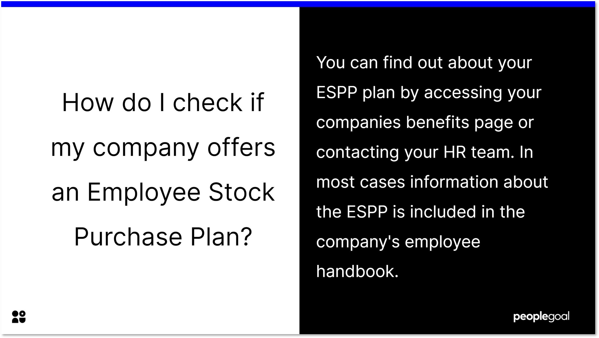 how do i check if my company offers an employee stock purchase plan