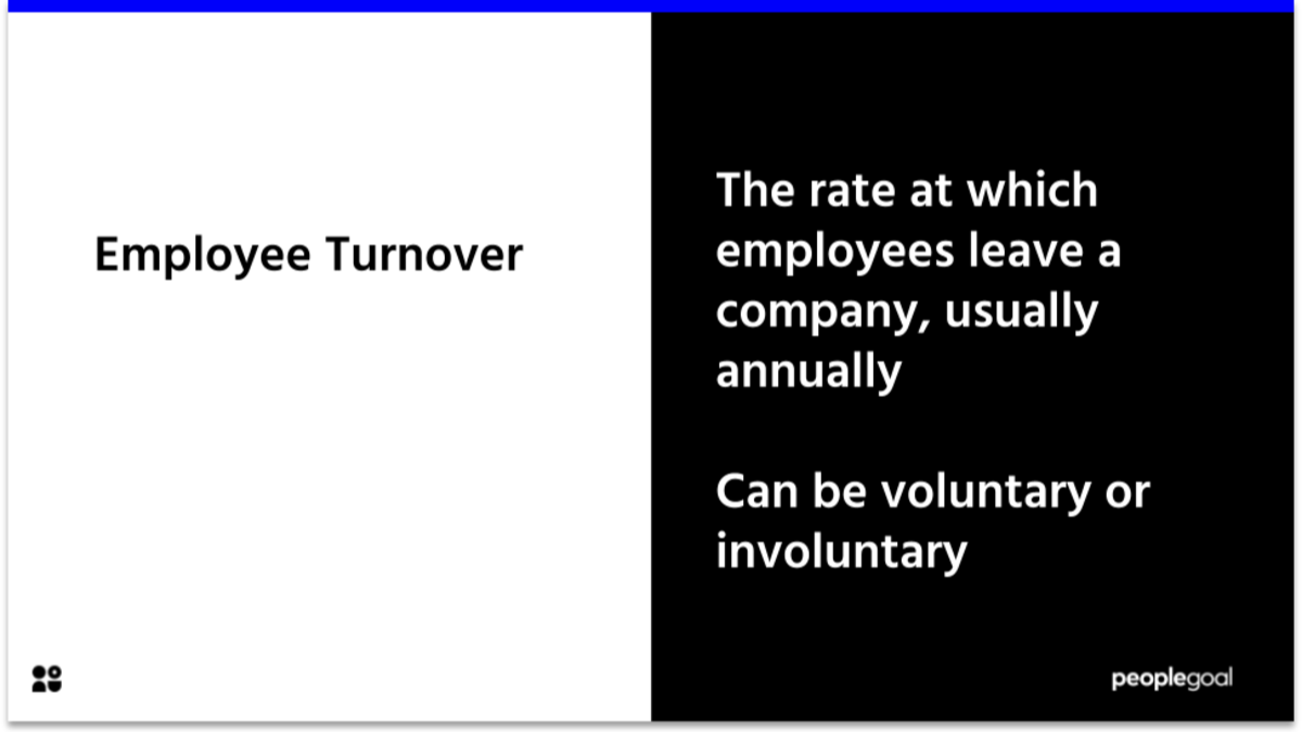 Employee Turnover definition