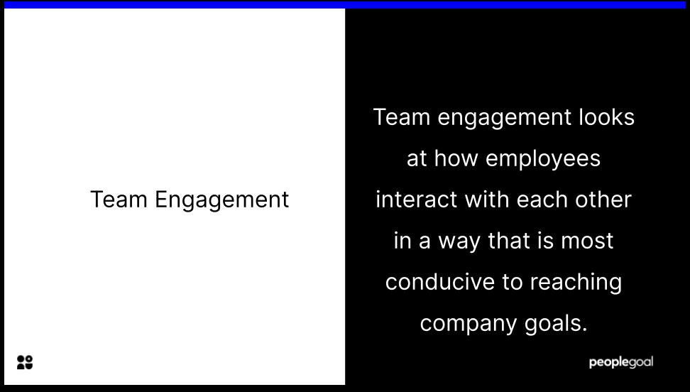 Team Engagement Definition