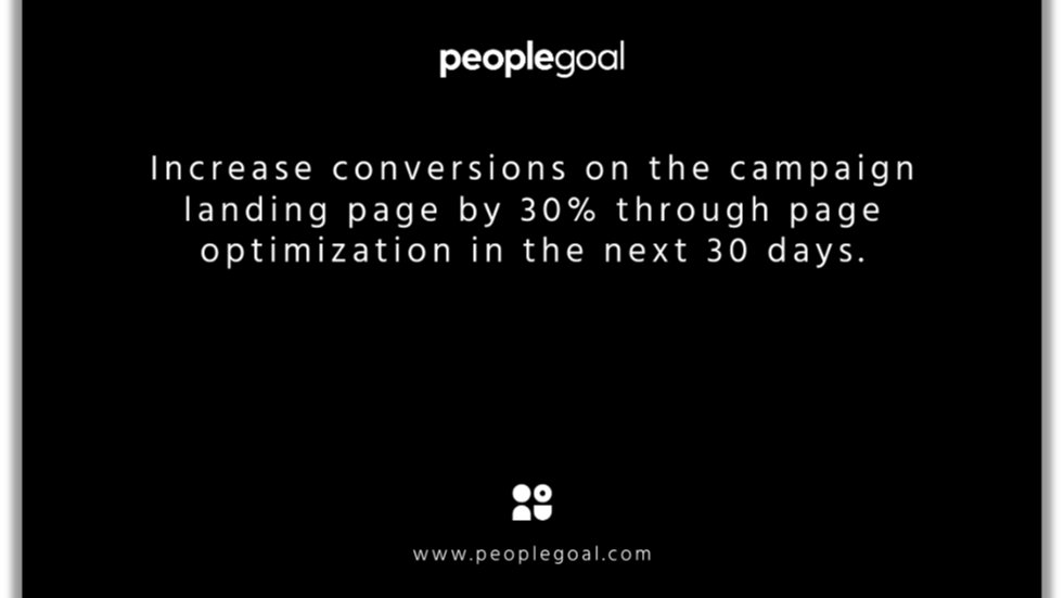 conversions on landing page