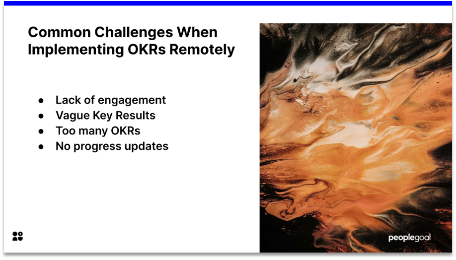 objectives and key results challenges