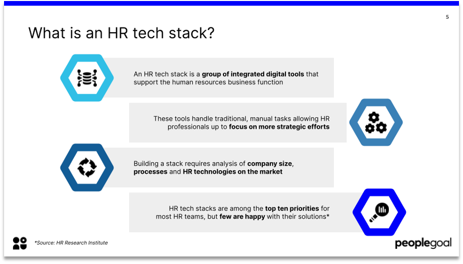 what is an HR tech stack