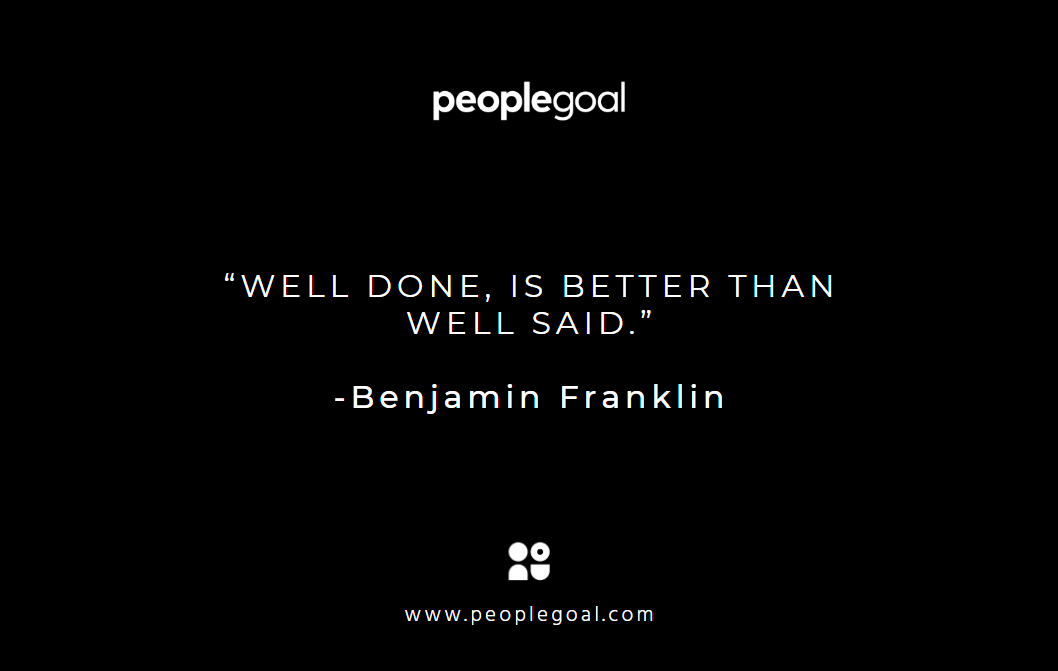 Motivational quotes for employees - Franklin