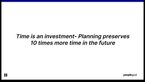 Development Planning - increase productivity