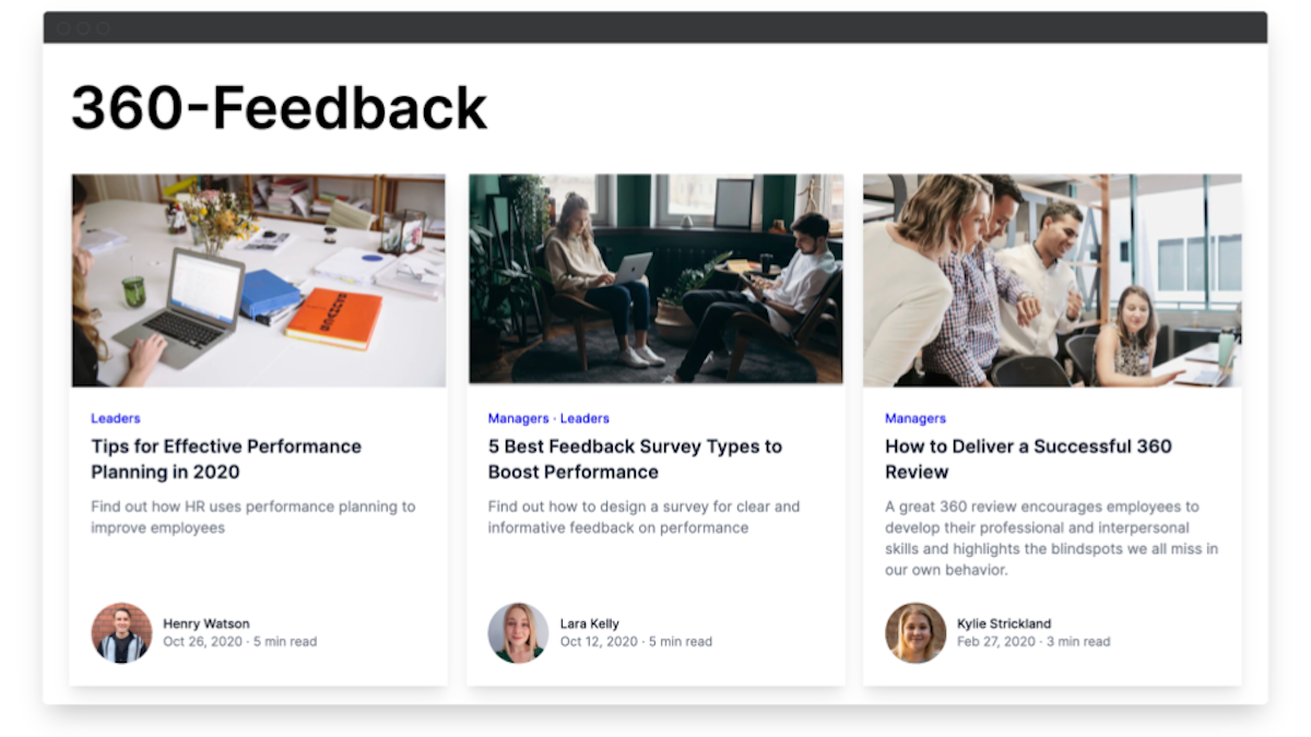 360 degree feedback software resource library