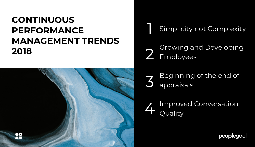 Continuous performance Management trends 2018