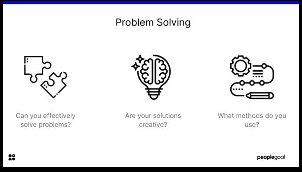 Self-Evaluation - Problem Solving