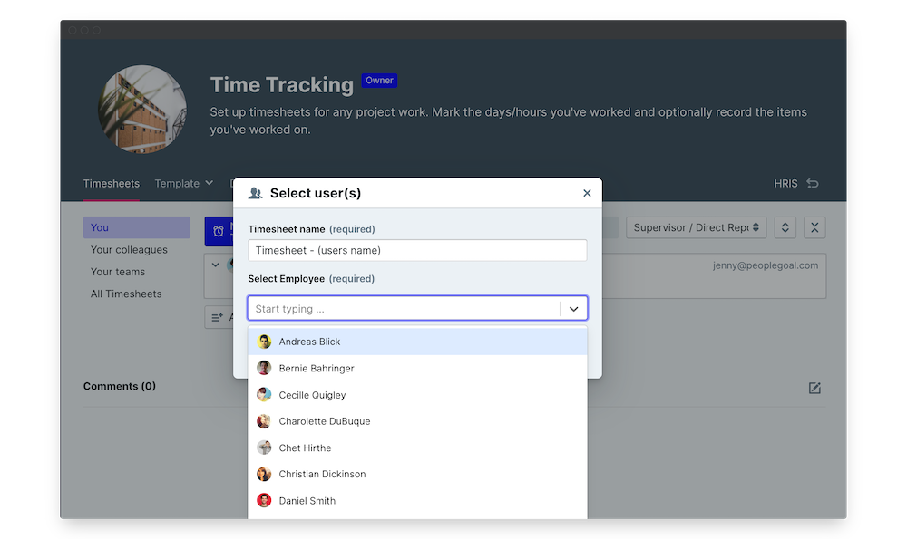 time tracking launch