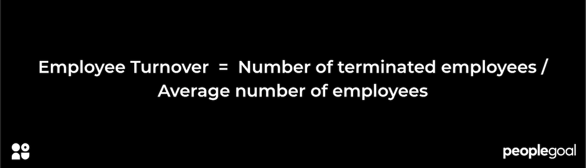 employee turnover equation