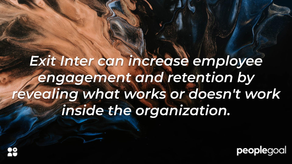 Exit Interviews can improve employee engagement