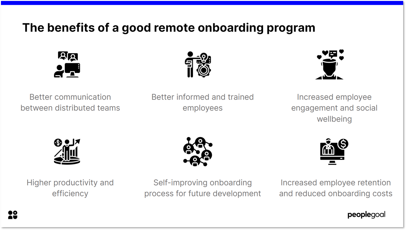 The benefits of a good remote onboarding program