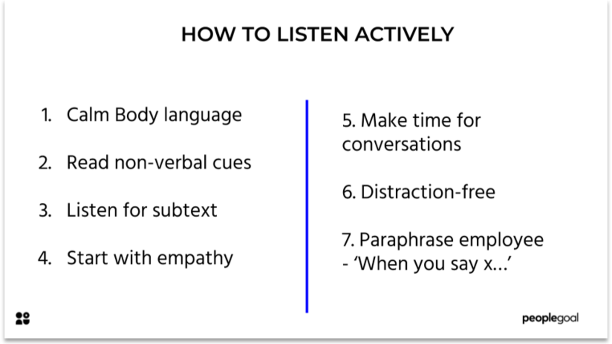 Active Listening for Employee Relations