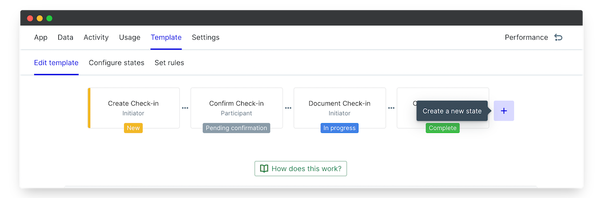employee manager check ins add state