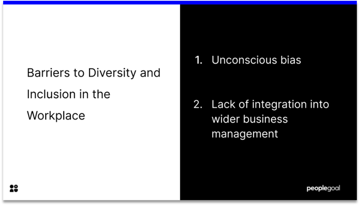 barriers to diversity and inclusion strategy