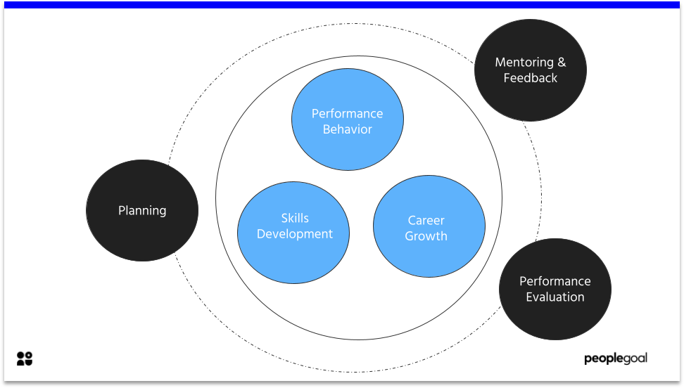 Continuous performance management cycle