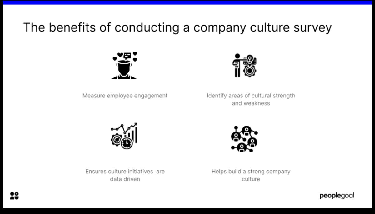 company culture survey benefits