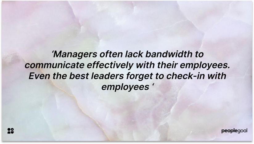 Managers encourage employees in employee development