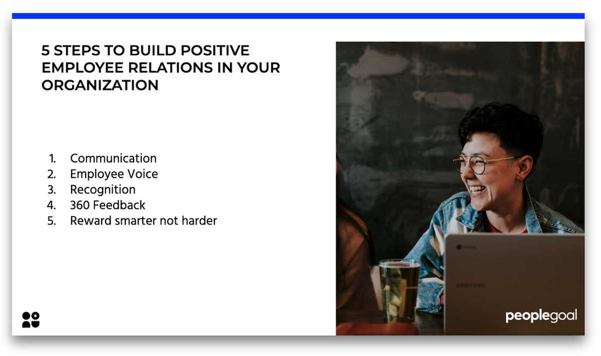 How to build positive employee relations