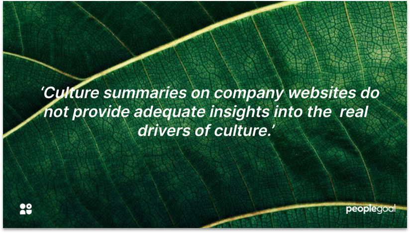 Company culture quotation