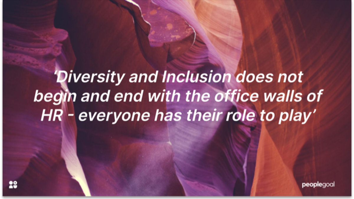 Diversity and Inclusion quote
