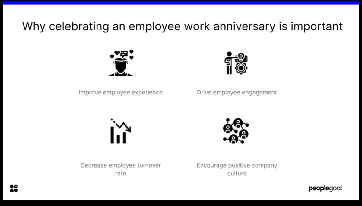 celebrating employee work anniversary why celebrating is important