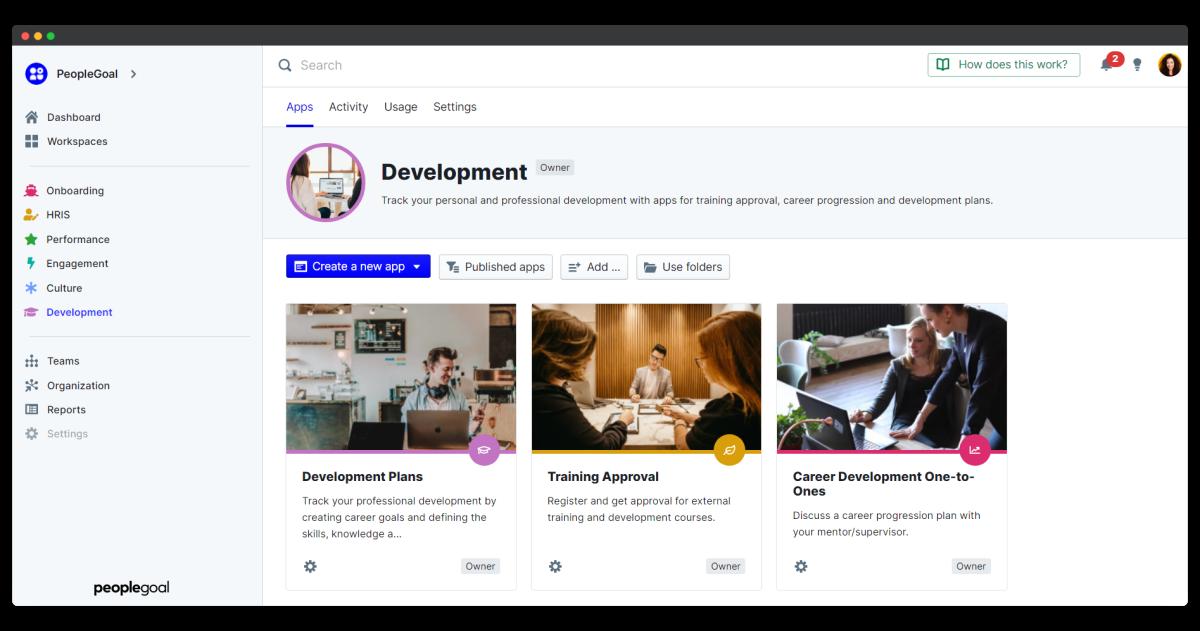 development apps