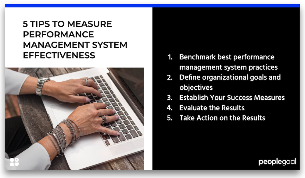 tips to measure performance management effectiveness