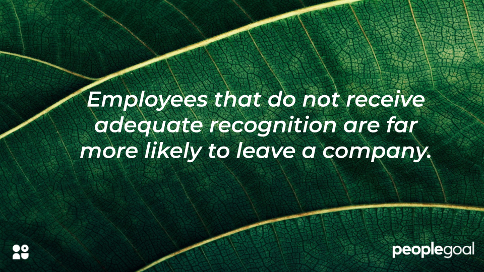employees need adequate recognition