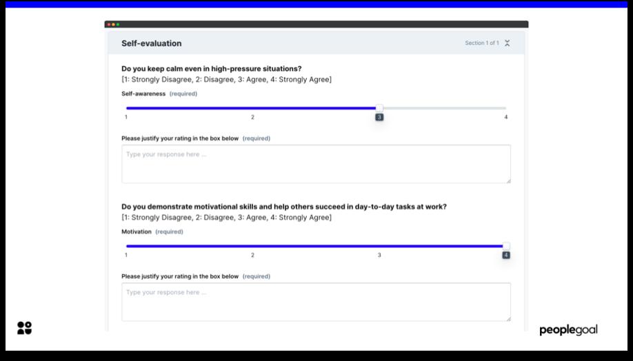 360 feedback self evaluation example